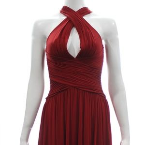 BCBG MAXAZRIA HALTER DRESS SIZE XS